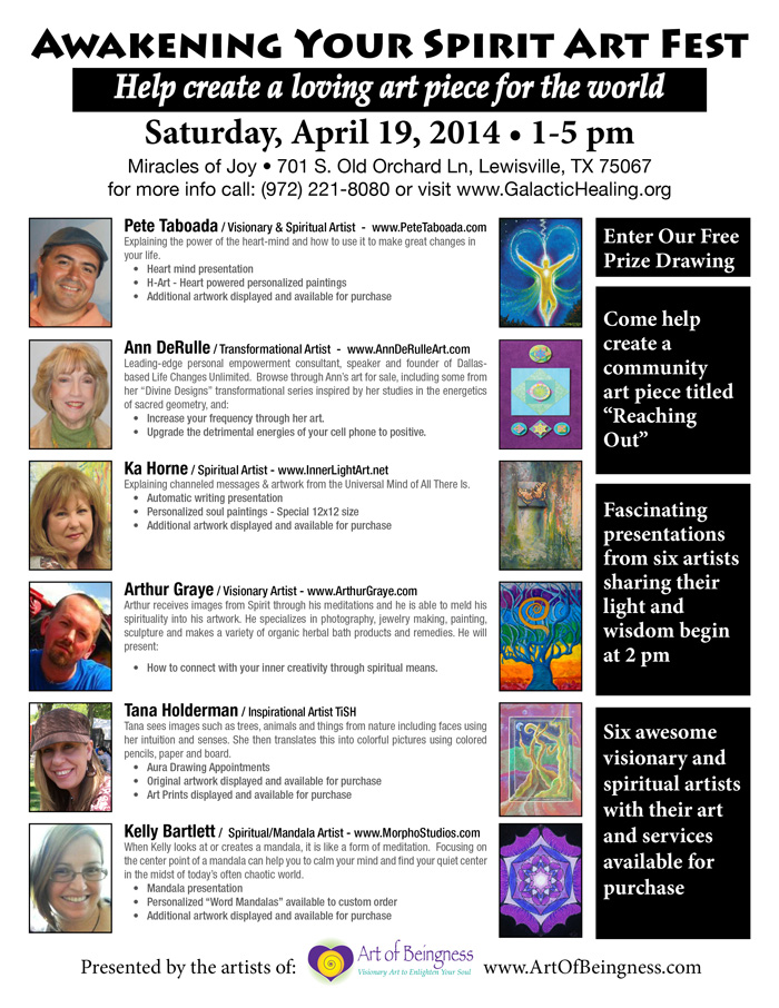 Spiritual Art Fest 2014
