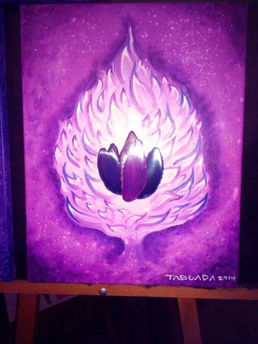 Violet-Flame-Spiritual-Art-Pete-Taboada-500