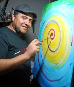 Pete Taboada International visionary spiritual artist