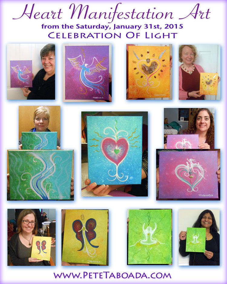 Heart Manifestation Paintings