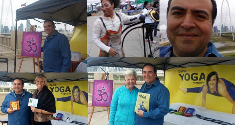 Yoga Art At Yoga On The Bridge – Dallas Texas