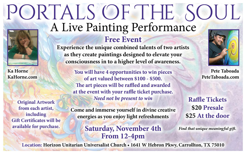Portals Of The Soul – Live Event Painting Performance