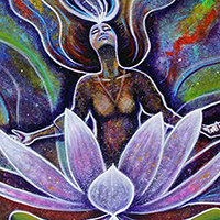 Sold Visionary Art Piece Titled Ria's Surrender