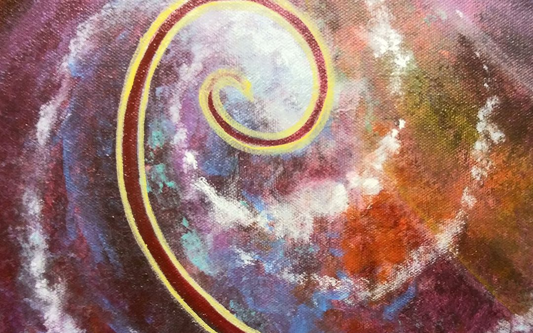 Creative Art Process – Cosmic Yogi Festival 5 – Stage 4