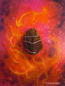 Chalcopyrite Visionary Art Taboada h550